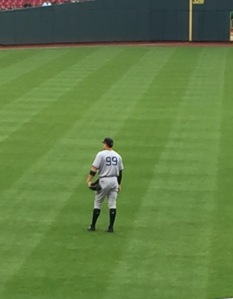 Aaron Judge Outfield
