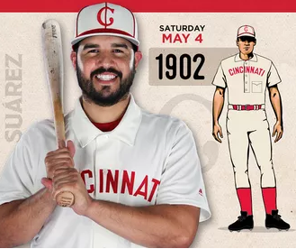 hot sales ab98a 11d43 Mac's Cincinnati Reds Throwback Uniform Series: 1902 Edition ...