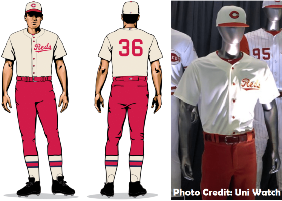 timeless design 55bab 739ee Mac's Cincinnati Reds Throwback Uniform Series: 1936 Edition ...
